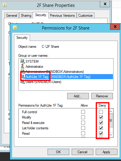 Fig. 2) File sharing by Deny 1F Tag